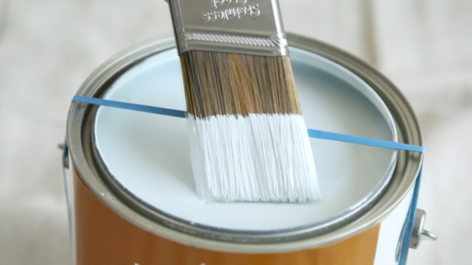 painting tricks brush cleaning Painting Tips for Beginners