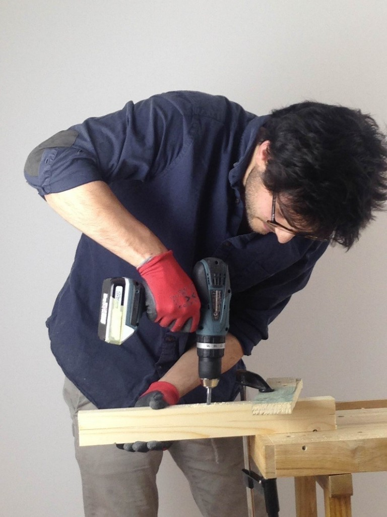how to make a lamp drill drilling wood