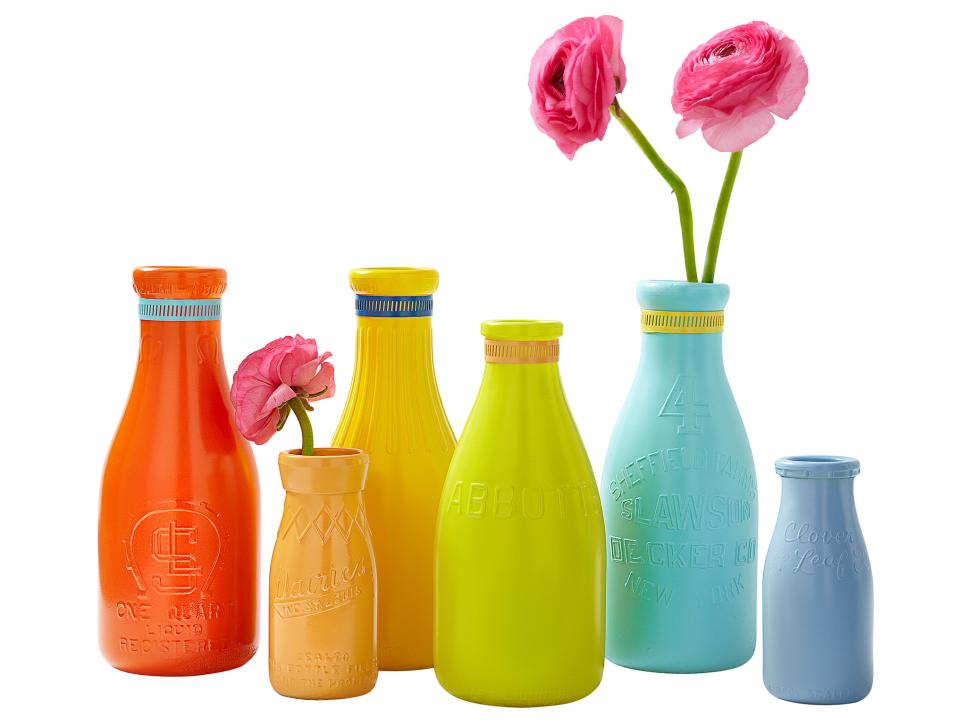 one pot paint projects DIY project the handy mano manomano painted bottles glass