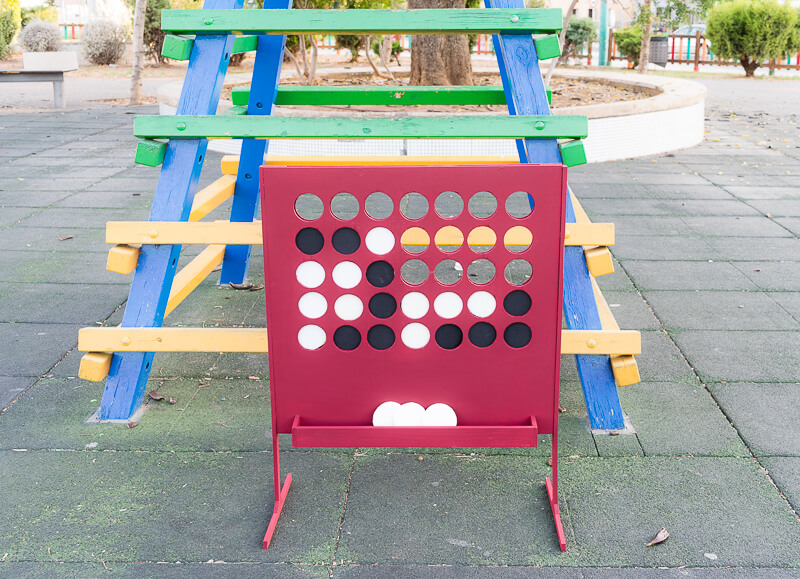 DIY connect 4 giant build your own homemade kids games activities children holidays red