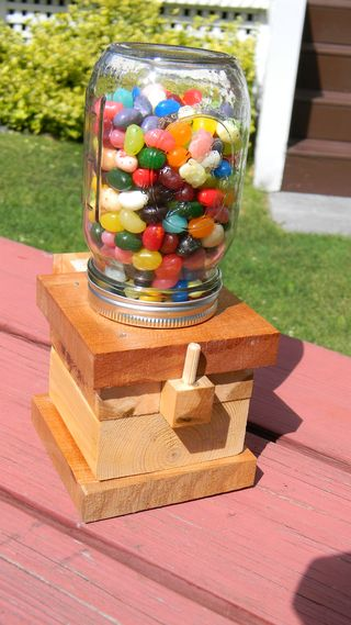 manomano mano mano the handy mano help do it yourself projects for kids children summer activities family grandparents grandma grandad diy sweet dispenser jelly beans