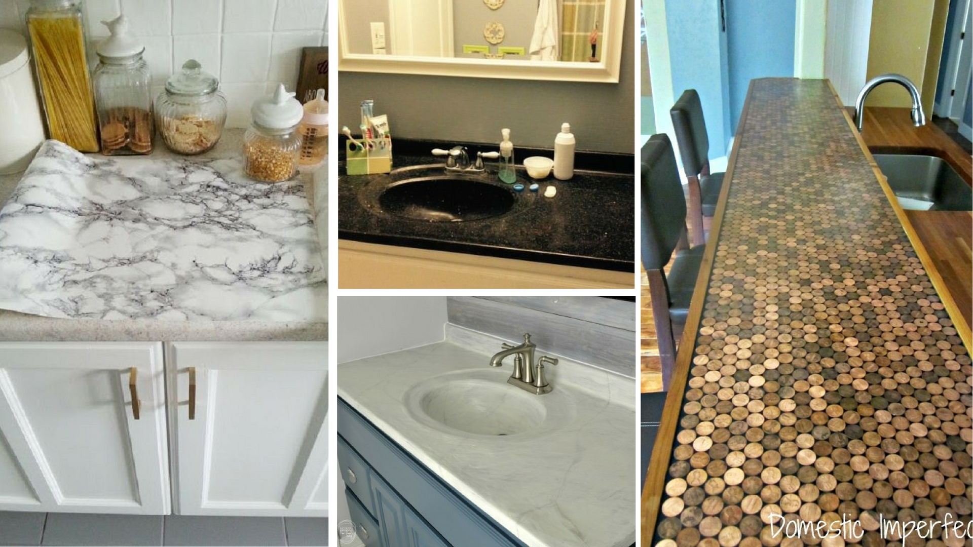 9 Ways To Redo Your Countertops Without Replacing Them