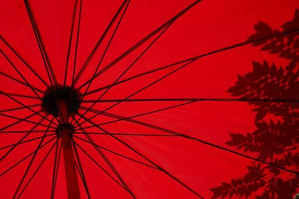 The stability of a parasol depends on its spokes