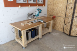 DIY mobile workshop