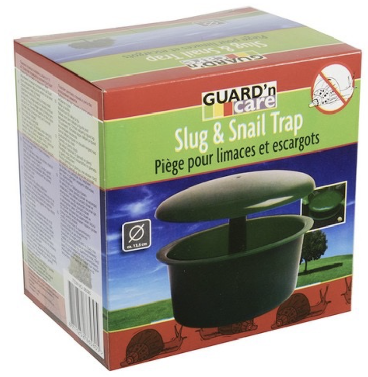 Snail traps can help protect your winter garden