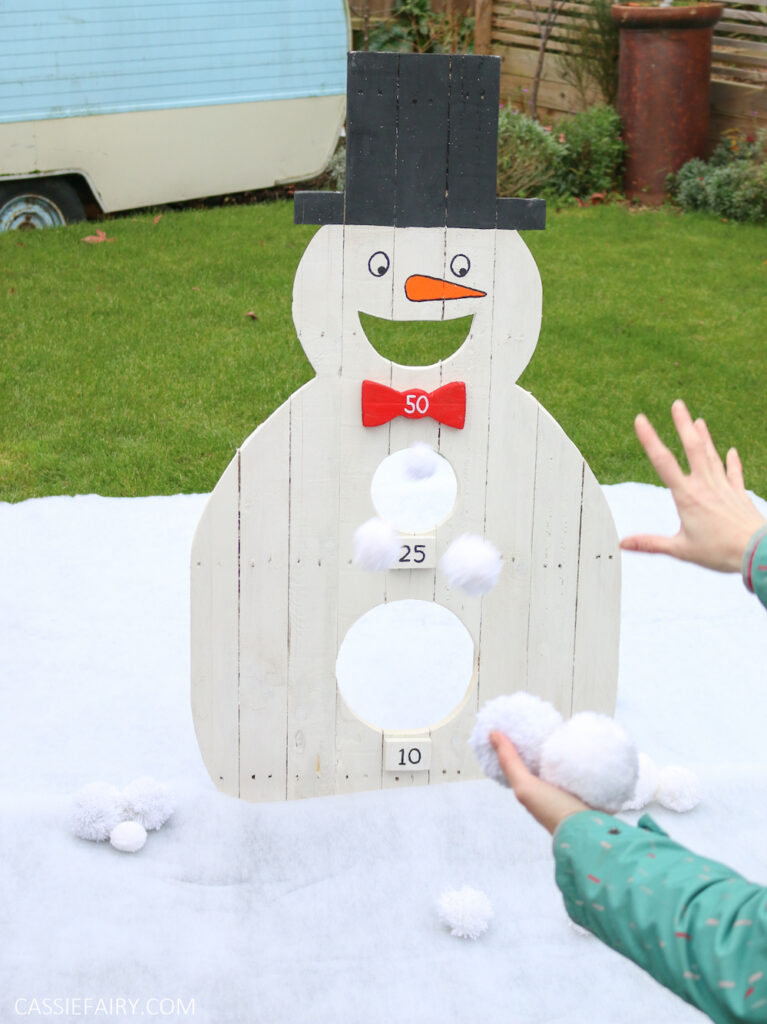 Family DIY Christmas Game by Cassie Fairy (C) Andy Greenacre