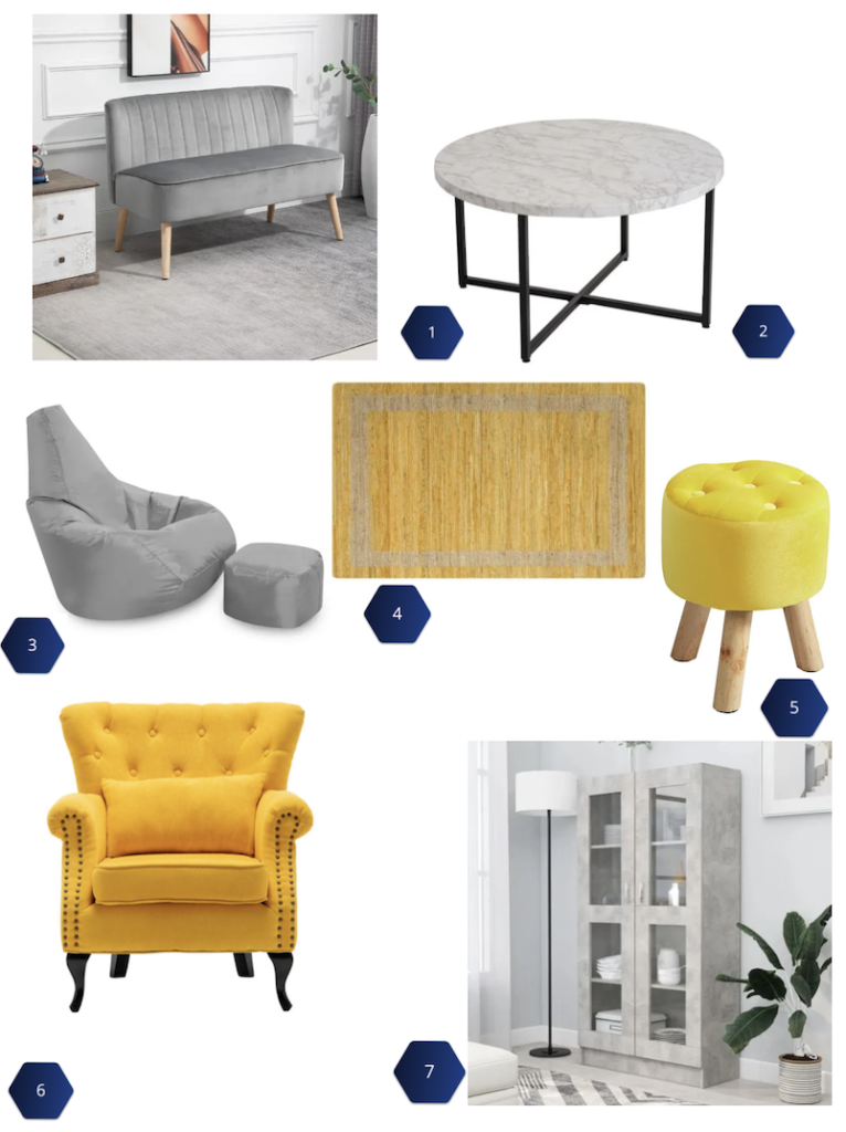 Pantone Color of the Year 2021: Living Room