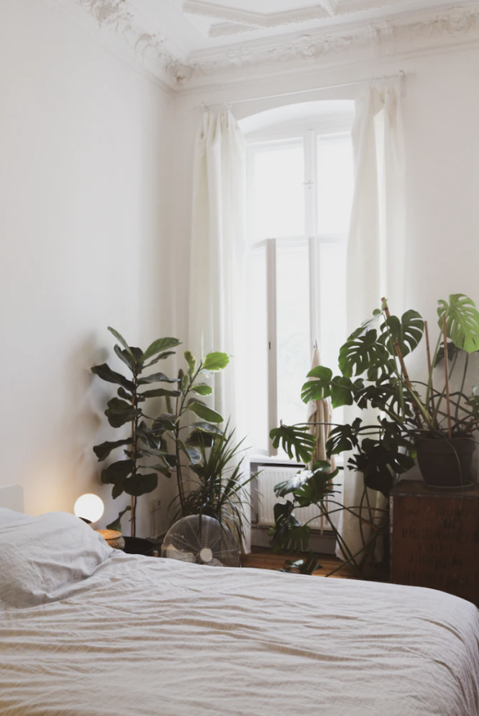 Keep cool at home with linen