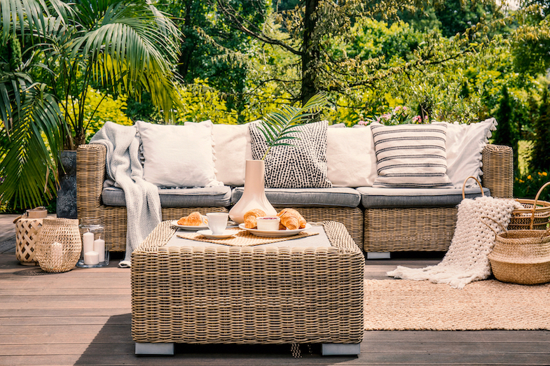 Thoughtfully-designed outdoor space remains a key late summer trend
