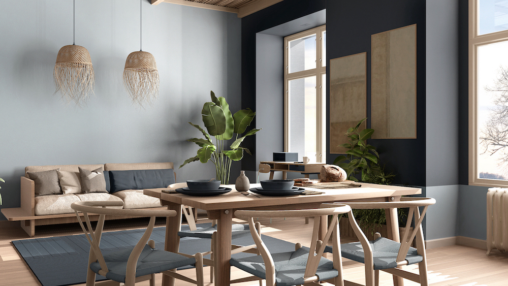 Late summer trend: natural materials