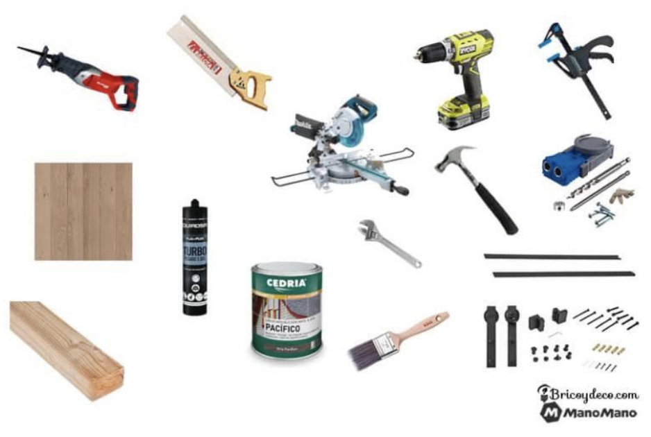 Tools you'll need for the door project